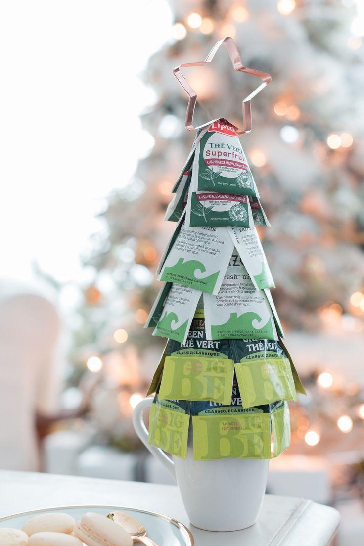 Weihnachtsteebaum-Geschenkidee #geschenk #Zähne # Weihnachten ...