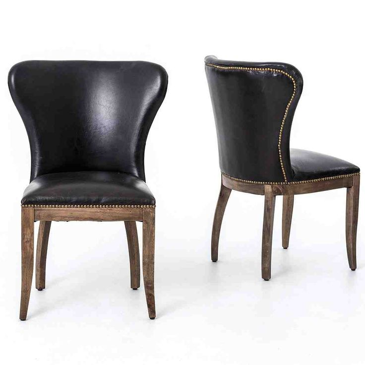 Best 25 Leather Dining Chairs Ideas On Pinterest Dining