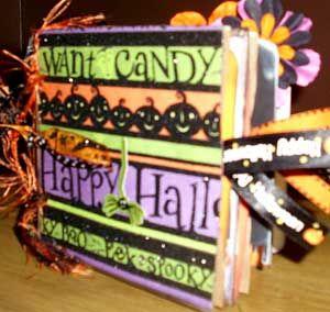 Halloween Mini Albums