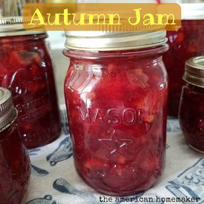 The American Homemaker: Autumn Jam with an Instant Pot Shortcut