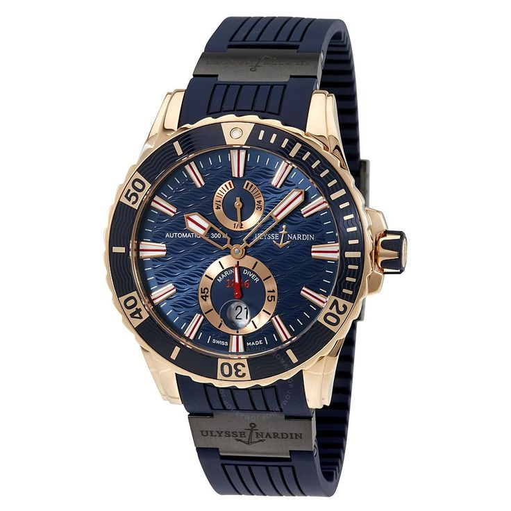 Ulysse Nardin Maxi Marine Diver Automatic Men's Watch 266-10-3C-93 - Maxi Marine Diver - Maxi Marine - Ulysse Nardin - Watches - Jomashop