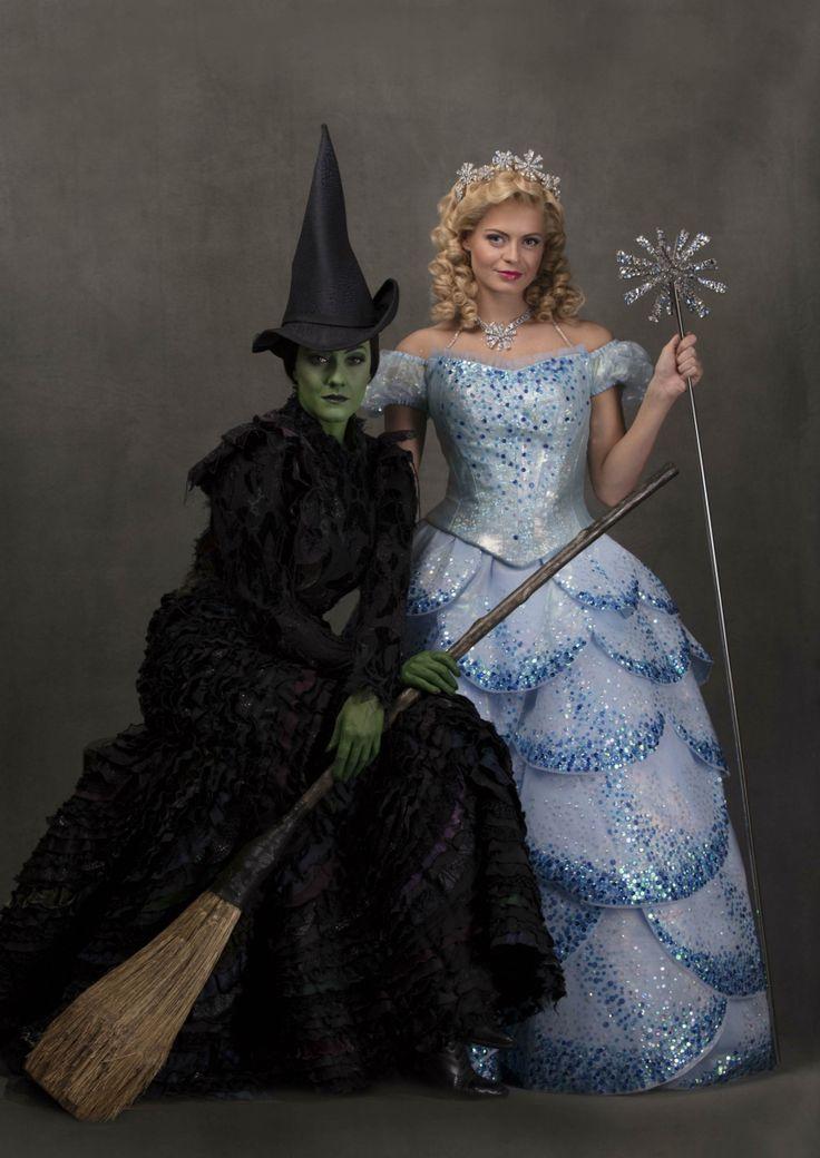 Wicked - Sophie Evans as Glinda, Alice Fern as Elphaba