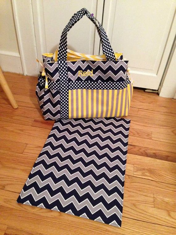 Baby Boys Diaper Bag Choose Your Own Fabric On Etsy 125 00