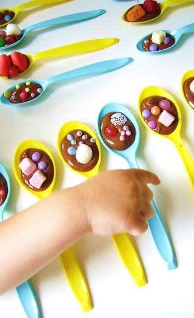 Chocolate party spoons...