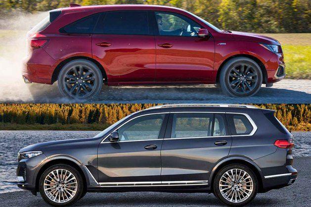 2020 Acura Mdx Vs 2020 Bmw X7 Which Is Better Autotrader Bmw X7 Bmw Acura Mdx