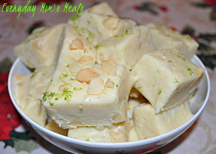 ~Key Lime Fudge~ A simple, yet delicious fudge recipe that is so unique and refreshing. Perfect for the lime lovers in your life.