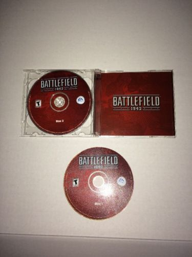 Battlefield 1942 - PC CD Computer game Discs Only