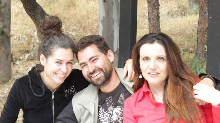 """Backstage & shooting of our short romance movie """"Post it"""" with two leading actors Vicky Driva and Stefanos Foufopoulos"""
