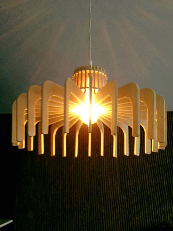 Plywood Pendant Lighting 2 of Bondart от BondartLighting на Etsy