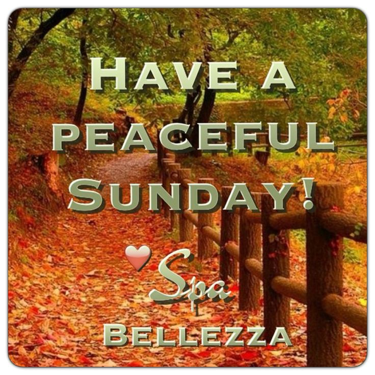 Have a peaceful Sunday ❤️ Spa Bellezza