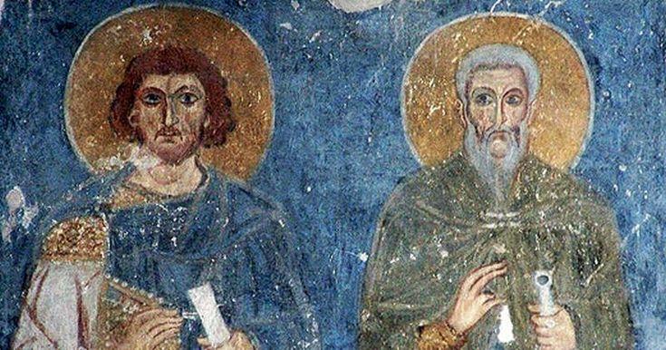 Troparul aducerii moaştelor Sfinţilor Mucenici doctori fără de arginţi Chir şi Ioan, glasul al 5-lea:  Minunile sfinţilor Tăi mucenici, zid nebiruit ne-ai dăruit nouă, Hristoase Dumnezeule; pentru rugăciunile lor, sfaturile păgânilor le risipeşte şi sceptrurile Împărăţiei le întăreşte, ca un bun ş