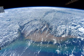 Amazon River from Space Station