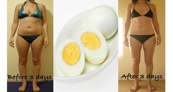 Unbelievable Diet with Eggs! Lose 3 kg in Just 3 Days!