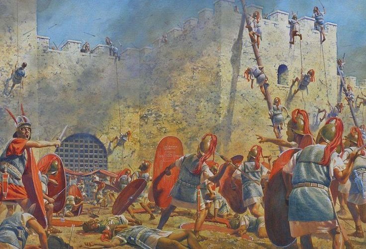 roman civil war His return in 83 bc, with an army of 40,000 men and much treasure, leads to a brief but full-scale civil war it is won by sulla in 82 bc at the battle of the colline gate, just outside the walls of rome.