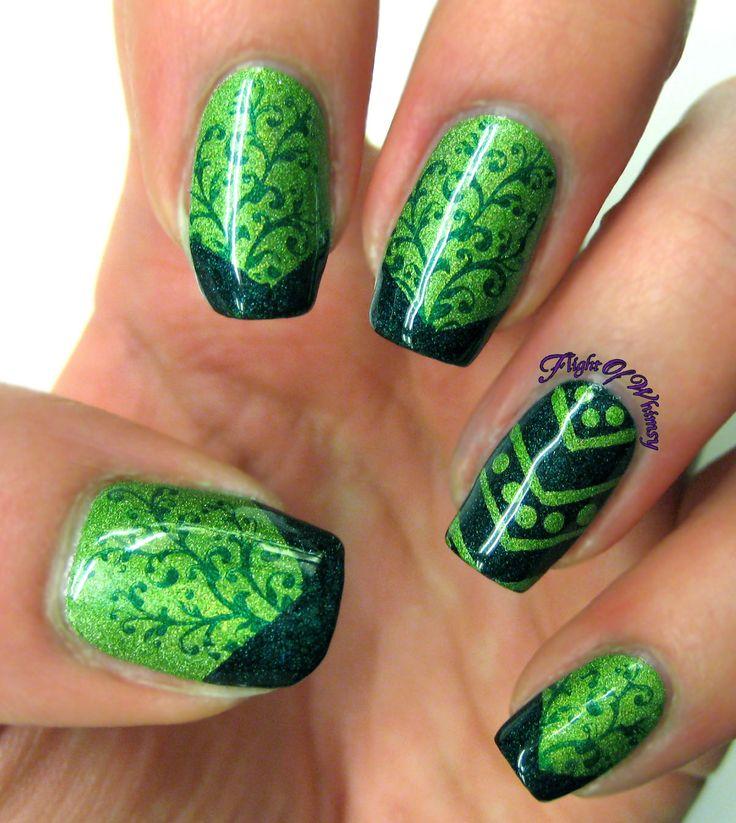 Mejores 101 imágenes de Nails en Pinterest | Diseños de uñas, Art de ...