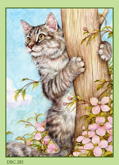 ❤️Artist ~ Debbie Cook ( this reminds me of our Sasha, scratchamanic!)
