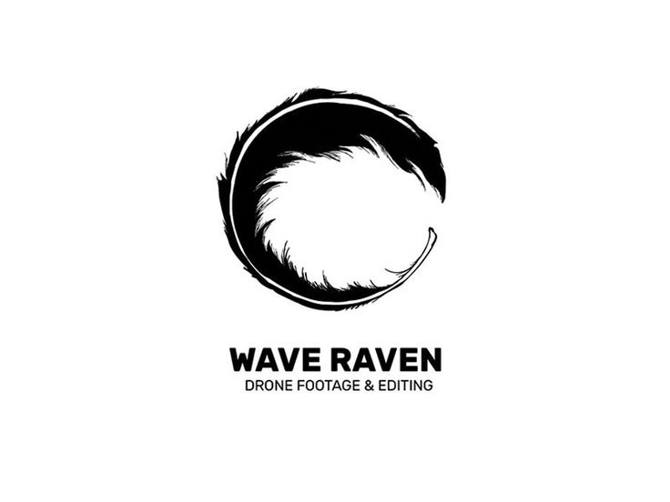 Wave Raven Logo