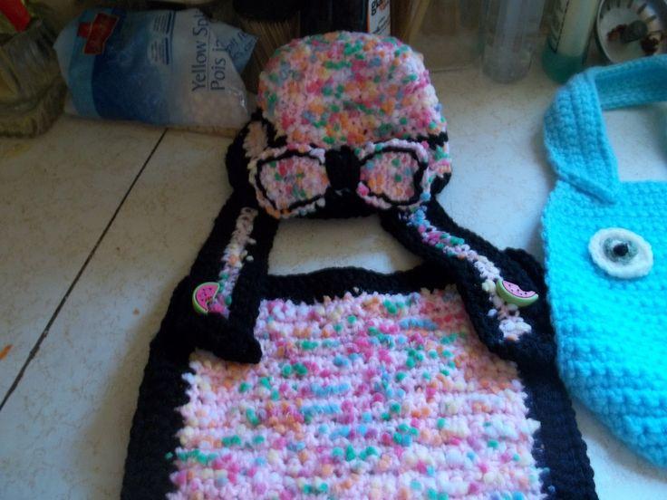 Crochet bibs &  Hats
