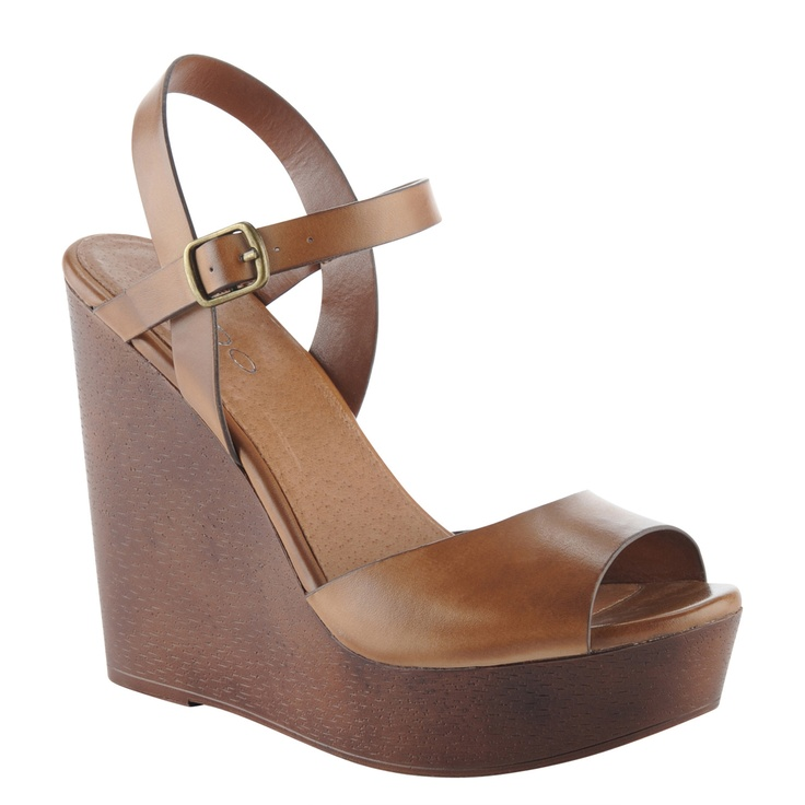 Also Hardney wedge. Would look great with a khaki high-low skirt or jeans :)
