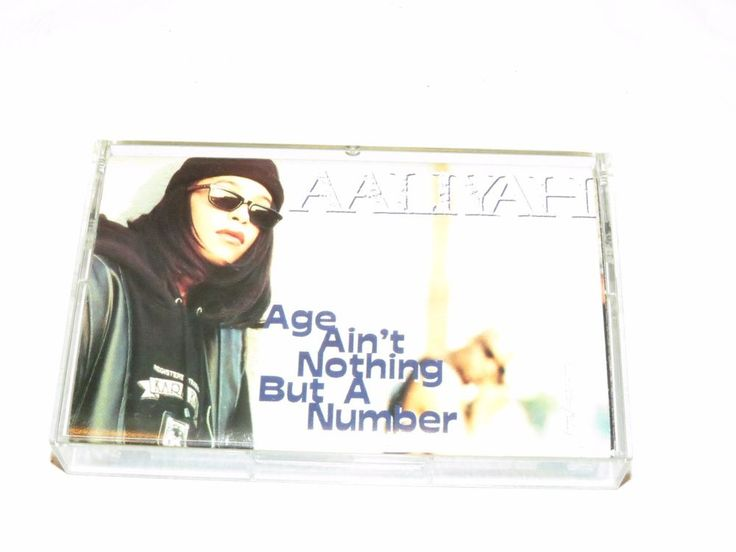 AALIYAH Age Ain't Nothing but a number jive J41533 CRC Cassette tape RARE