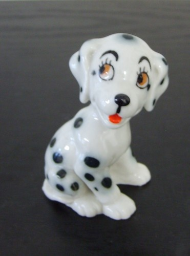 Wade Whimsies Miniature Dalmation Dog Size 2"