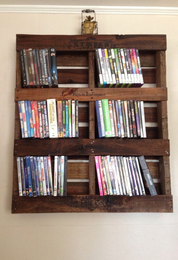 Dvd Shelving Ideas Best 25 Dvd Rack Ideas On Pinterest  Dvd Storage Rack Diy Dvd