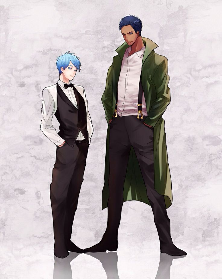 KnB Aomine sorta looks like Zoro in this picture, doesn't he?