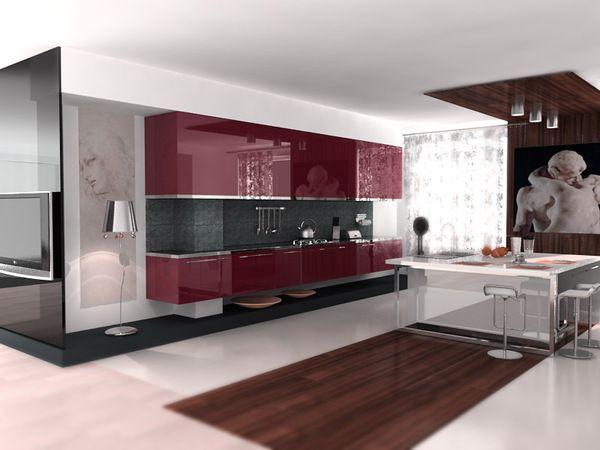 Unique Kitchen Design Www.ambientlounge.com
