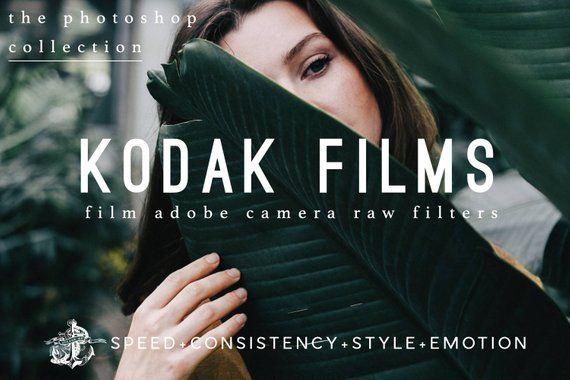 Kodak Films ACR Presets for Photoshop Filters Film Emulation