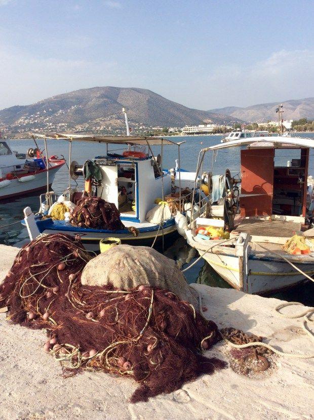 palaia Fokaia Greek fish taverns @eatyourselfgreek