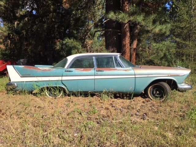 Old Car For Sale >> 1958 Plymouth Belvedere Hardtop 4dr Classic Project Car