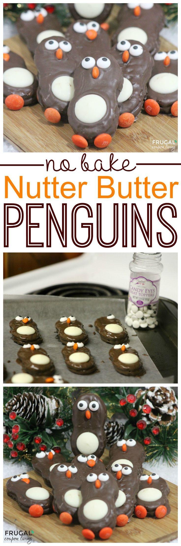 Food | Nutter Butter Penguins by Frugal Coupon Living