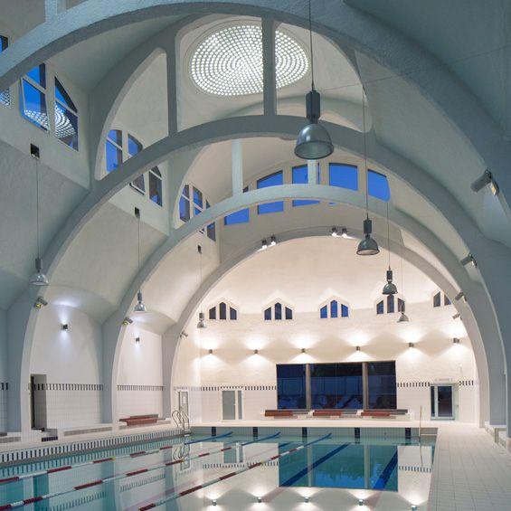 Best 25 rehabilitation center architecture ideas on for Piscine butte aux cailles
