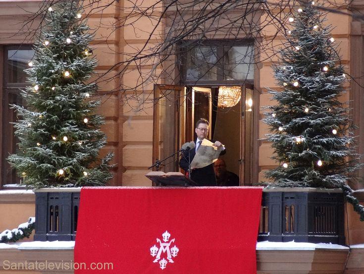 Dichiarazione della pace di Natale a Turku nella Finlandia meridionale