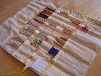 Multicrafty: Knitting Needle Case *~Tutorial~*