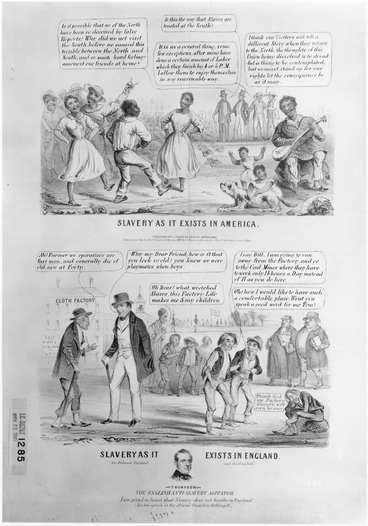 description of the two major types of slavery in america How likely is a long stretch of time in which one of the two major coalitions fails  this broad description fails to capture  it combined pro-slavery.