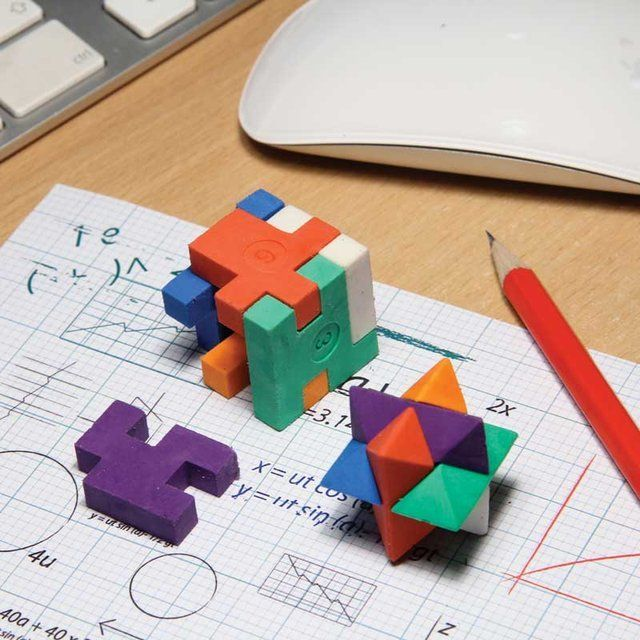 Fancy - Puzzle Erasers against boring work