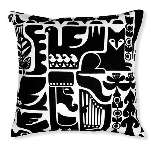 Marimekko Kanteleen Kutsu Throw Pillow - #pintofinn