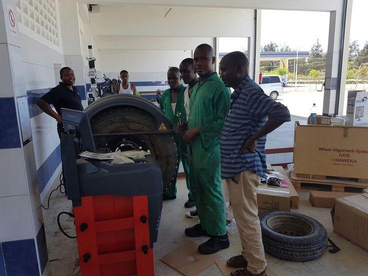 Truck Wheel Balancing Training Kenya