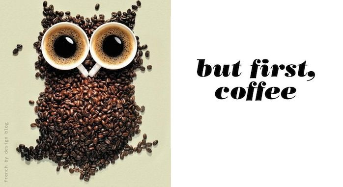 awesome.Coffe Owls, Favorite Things, Caro Black, Coffee Beans, Nice Pin, Fit Diet, Adorable, Favorite Pin, Cups Of Coffee