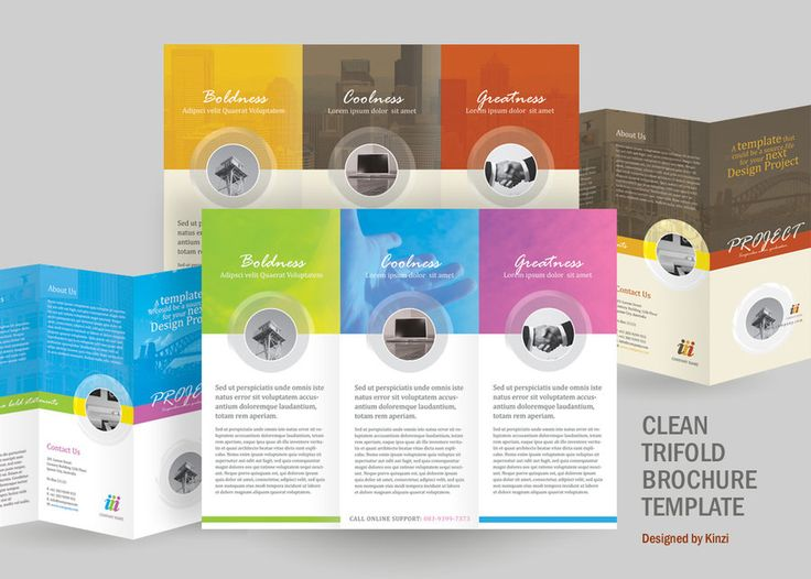 A perfect minimalist 8.5 x .5.5 corporate tri-fold brochure. The trendy and modern design is ideal to showcase any company business. Update colors and photos to suit your needs. All fonts and photo...