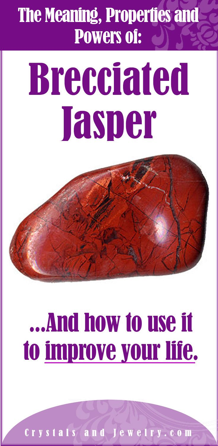 Brecciated Jasper Meaning