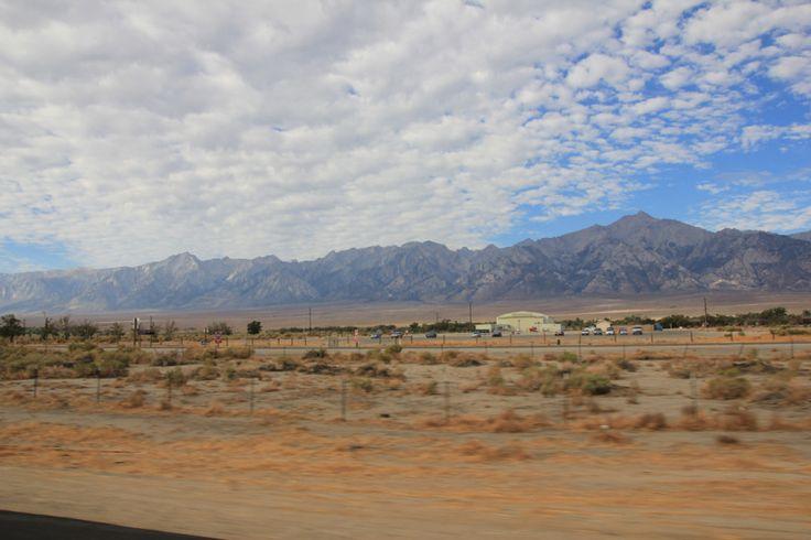 Droga z Independence do Doliny Śmierci  U.S. Route 395, Kalifornia, USA