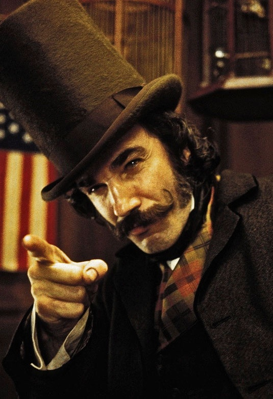 """Daniel Day Lewis in Gangs of New York - not quite """"steampunk"""", but he's got to be included ... <3 C"""