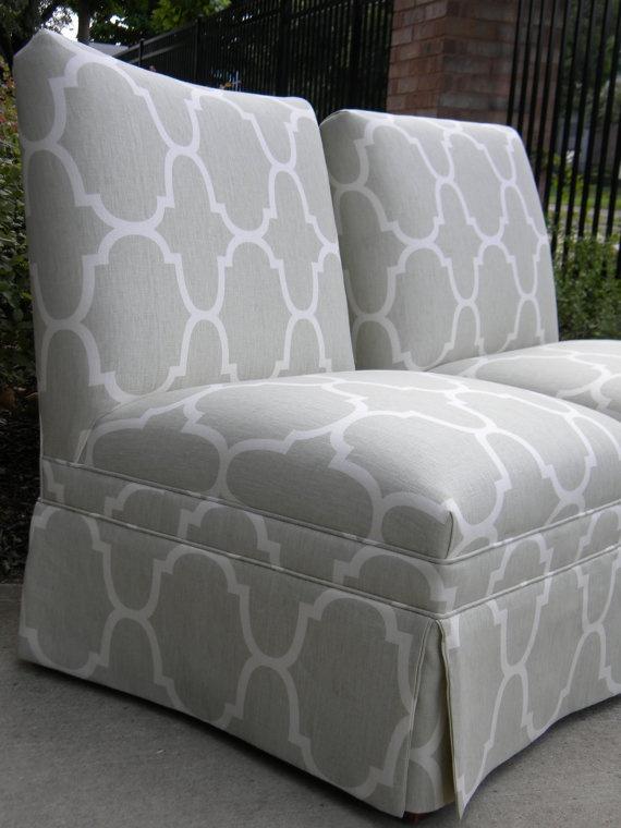 Pair of Windsor Smith Riad Slipper Chairs by shopoldandnew on Etsy, $1200.00