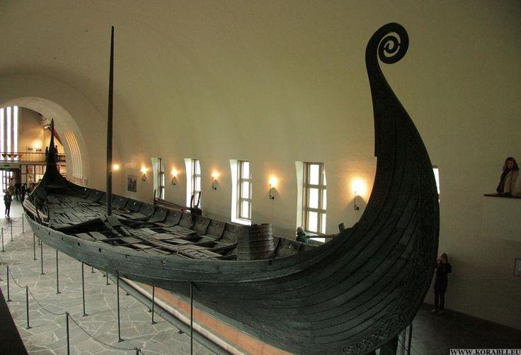 Гокстадский корабль. Музей кораблей викингов