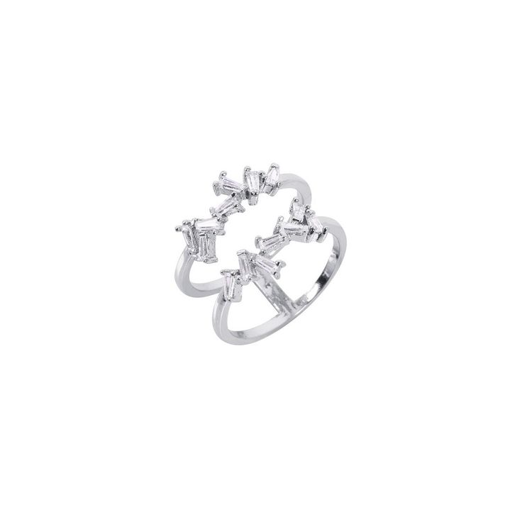 Metal Couture 9kt Gold, Topaz & Garnet Fleur De Lis Ring - UK L - US 5 1/2 - EU 51 3/4
