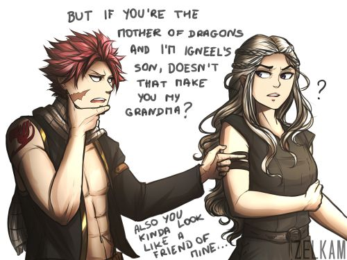 fairy tail x game of thrones