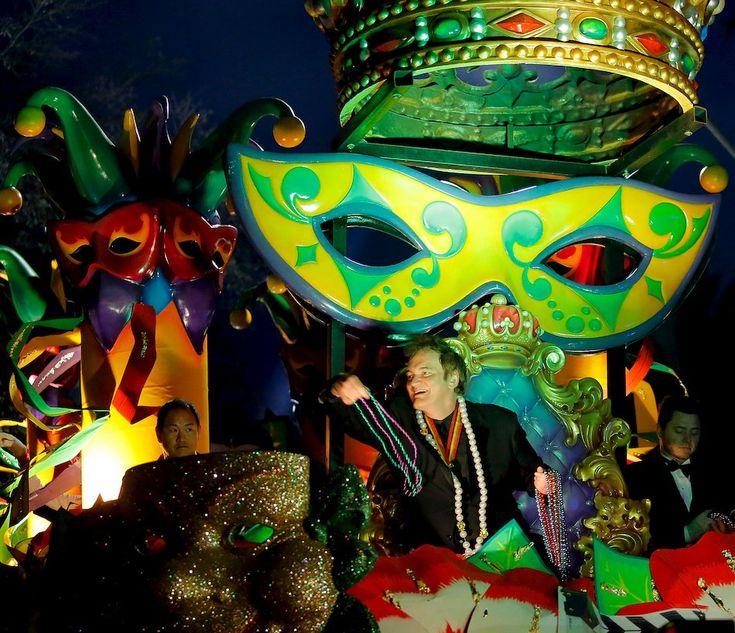 Green Float, New Orleans Mardi Gras