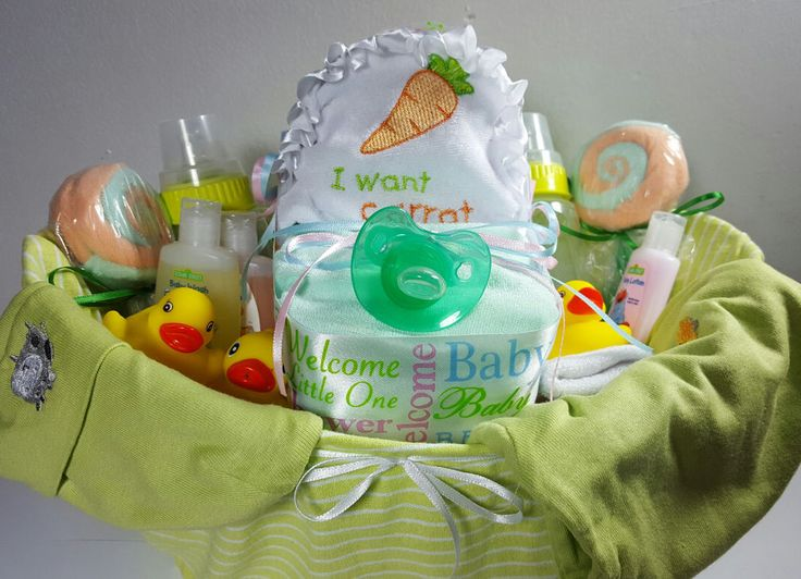 Baby Shower Party Gift Basket For Neutral - 35 items including Gerber Baby Items #Handmade #Sprinkle #BabyShower #Baby #Shower #SALE #IDEAS #DIY #Gifts #Cute #Crafts #BabySprinkle #Etsy #eBay  #LittleHomeMades #JCsBabyShowerGifts